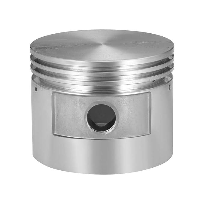 sourcing map Compresor de aire motor pistón aleación de aluminio 80 mm diámetro 62 mm altura con diámetro 15 mm: Amazon.es: Bricolaje y herramientas