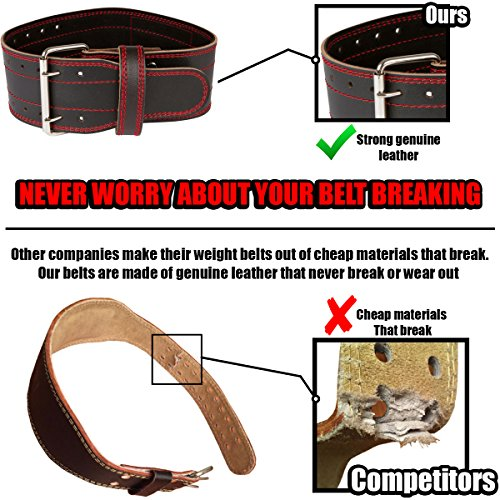 Small leather weightlifting belt for women men workout powerlifting back support black red buckle loss valeo training single prong pink crossfit grizzly rdx women's ader pull dip girl girls pioneer