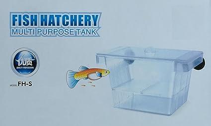 Tropical-Reef TR-330 - Tanque criadero de peces flotante para acuario 4 en
