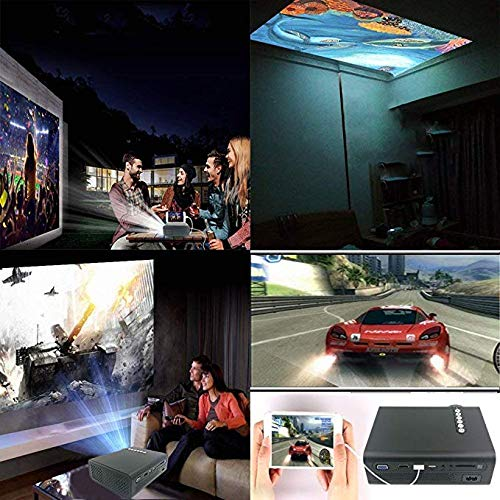Portable Projector -12000 lumens WiFi 1080p Video Projector LCD LED Full HD Theater Proyector 500