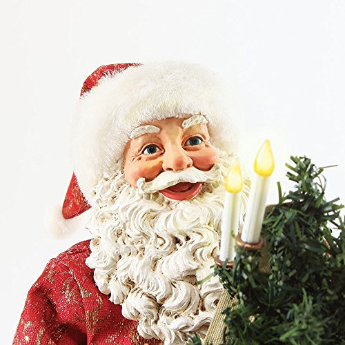 Department 56 Possible Dreams Christmas Santa Hark The Angels Figurine by Department 56 (Image #1)