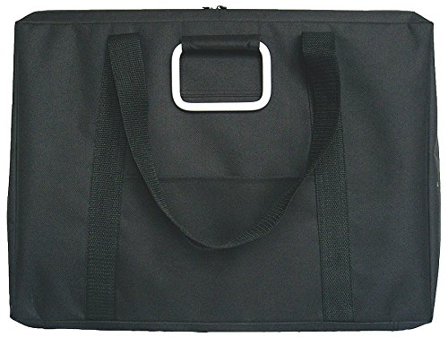 Prat Start SFU Urban Softside Portfolio, Weather-Proof Nylon Cover with Double Zipper Opening, Handle and Shoulder Strap, 23 X 31 X 2.5 inches, Black (SFU-31) by Prat