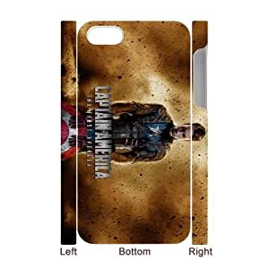 iPhone 4 4s Cell Phone Case 3D Comics Captain America The First Avenger gift pjz003-9439613