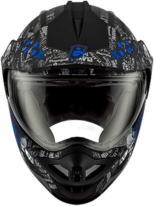 KIWG Casco Moto,Casco para Motocicleta, Casco Integral para ...
