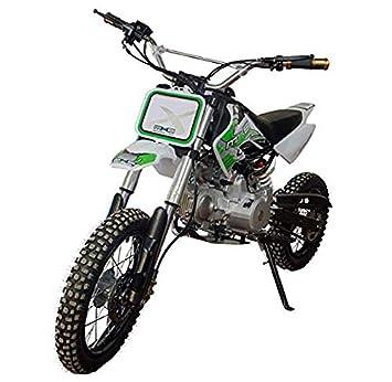 KEN ROD Moto Gasolina Moto Cross 125CC Moto Cross Cuatro Tiempos Moto Pit Bike Color Blanco: Amazon.es: Coche y moto