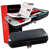 Satisfye - Ultimate Switch Case for Nintendo Switch - Premium Switch Carrying Case. Screen Protector and Travel Case, #1 Switch Accessories Designed for Gamers. FREE BONUS INCLUDED: Detachable Strap