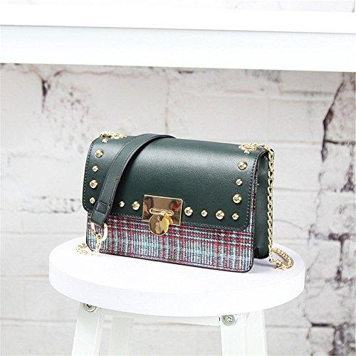 Slant Shoulder Girl Chain One green Fashion Mini Bag Bag Bag C7wxqxv5