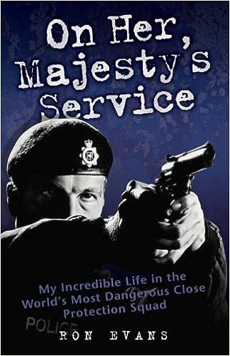 On Her Majesty's Service: Amazon.co.uk: Ron Evans, Douglas Thompson:  9781844546022: Books