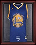 Golden State Warriors 2015 NBA Finals Champions Logo Mahogany Framed Jersey Display Case - Fanatics Authentic Certified