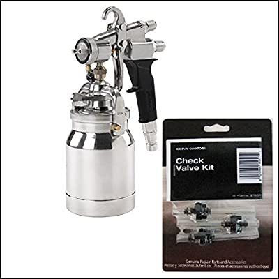 Titan 0524041 or 524041 Capspray Maxum II HVLP Spray Gun With Free Check Valve Kit 0297051