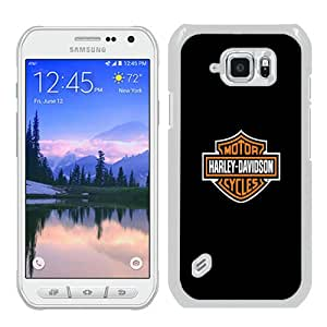 Fashionable design Harley Davidson iPhone 5 Wallpaper White Samsung Galaxy S6 active Case Cover