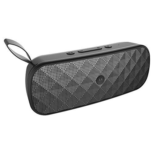 Motorola Sonic Play+ 200 Water Resistant Stereo Bluetooth Speaker - Black