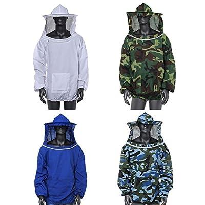 Beekeeping Jacket Veil Smock Equipment Supplies Bee Keeping Hat Sleeve Suit