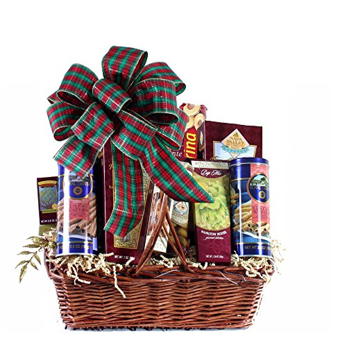 Plaza Flowers - Favorite Edibles Gourmet Food Basket - Standard
