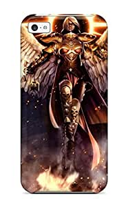 High Impact Dirt/shock Proof Case Cover For Iphone 5c (strong Angel Knight)