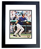 Larry Walker Signed - Autographed Colorado Rockies 8x10 inch Photo BLACK CUSTOM FRAME - Guaranteed to pass PSA/DNA or JSA