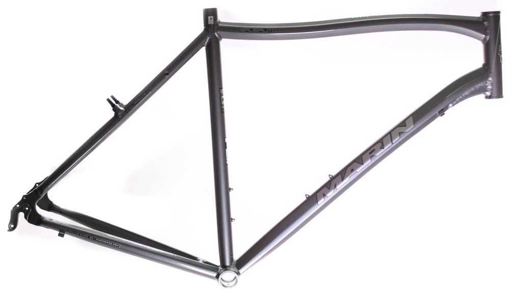 22'' MARIN SAUSALITO Road Commuter Bike Frame Alloy Grey 700c E3 Tubing NOS NEW
