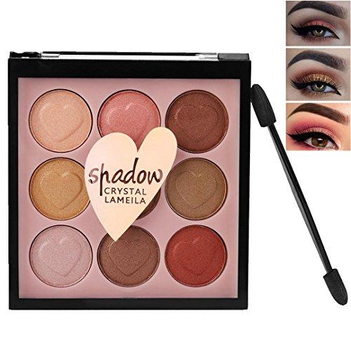 Hometom Best Pro Eyeshadow Palette Makeup - Matte + Shimmer