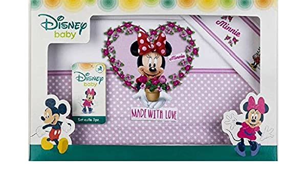 lenzuolini Cuna Cuna Disney Minnie GLICINE: Amazon.es: Bebé