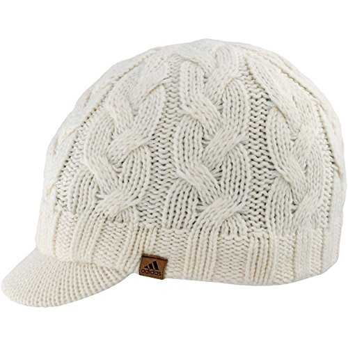 adidas Women's Crystal Brimmer Hat, Chalk White, One Size