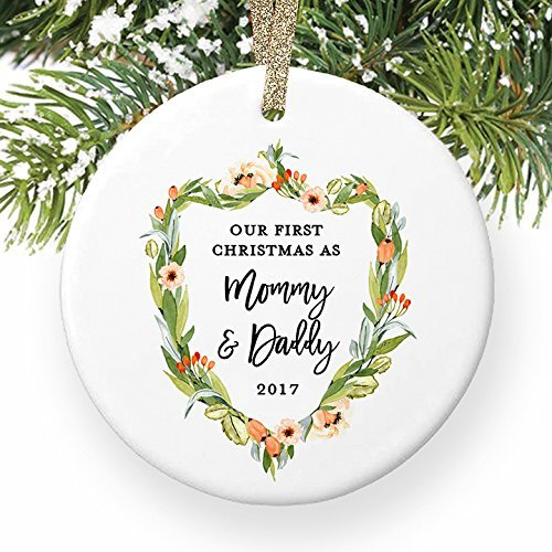 Christmas Gifts For New Parents.Amazon Com Christmas Gifts Ceramic Ornament Crafts New