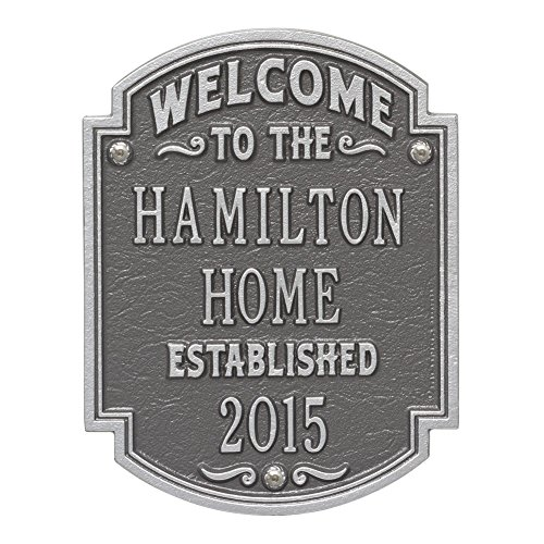 Welcome Plaque - 5