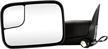 Prime Choice Auto Parts KAPCH1320307 Power Heated Towing Driver Left Side View Mirror