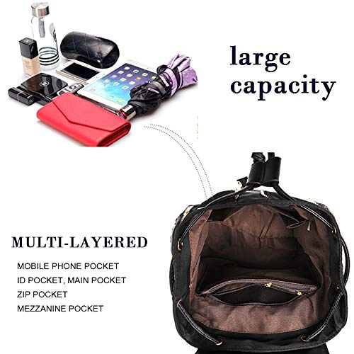 School Daypack Waterproof Shoulder Travel Bagpack Nylon Purle Women Bookbag Fashin Bag Backpack avIHHU