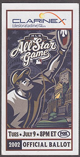 clarinex-major-league-baseball-all-star-game-official-ballot-2002-unused