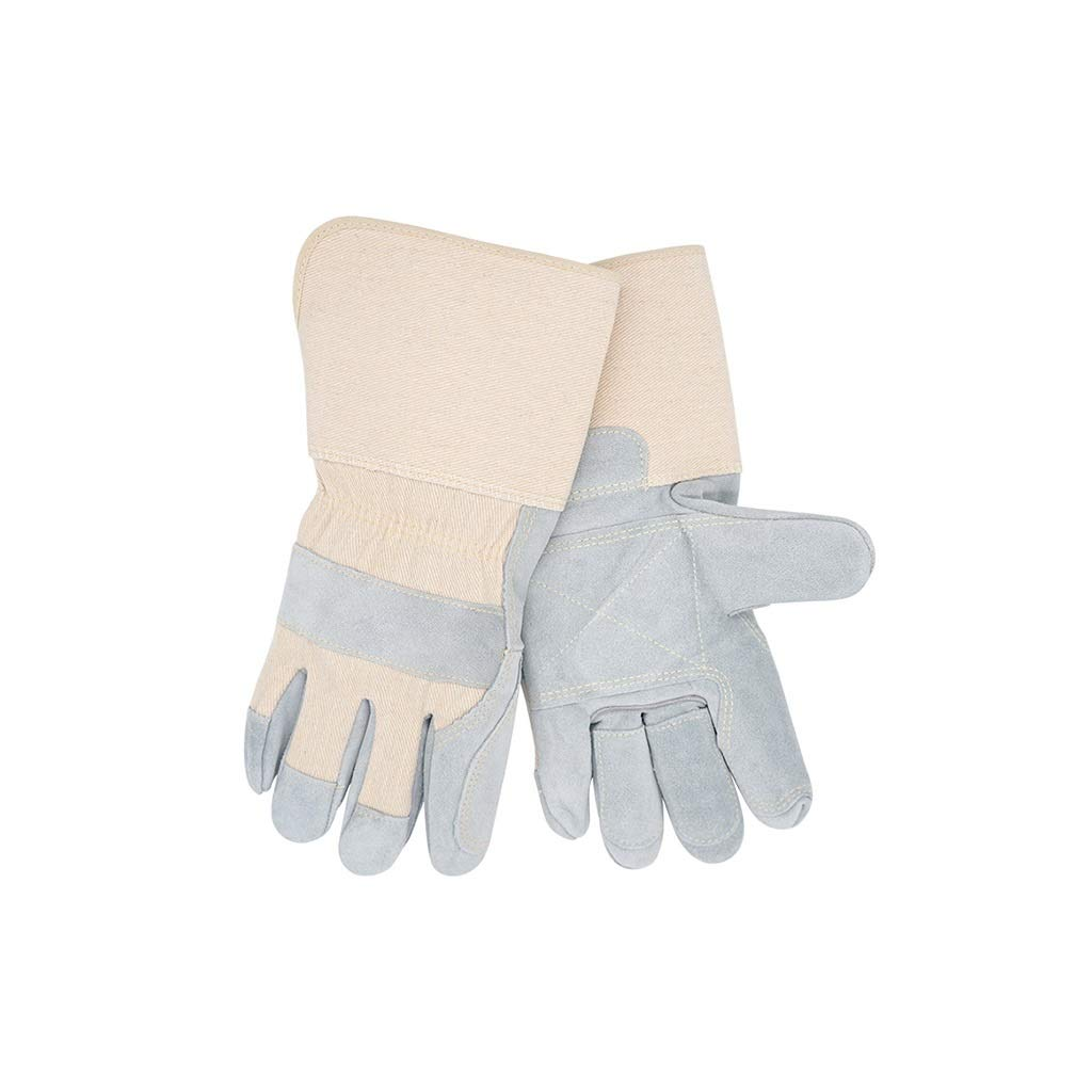 YYTLST Welder Gloves, Wear-Resistant, High-Temperature, Anti-Cutting, Anti-scalding, Cold-Proof, Suitable for Machinery Factories, 1 Pair/12 Pairs (Color : 1 Pair) by YYTLST