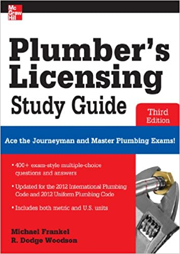 Plumber's Licensing Study Guide, Third Edition, Michael