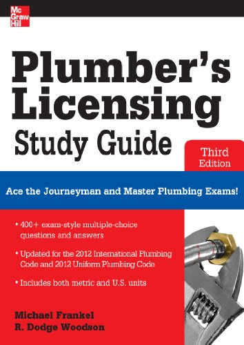 Plumber's Licensing Study Guide, Third - Lighting Gray Electronic