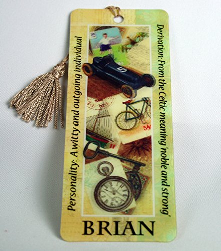 history-heraldry-brian-bookmark-reading-personalized-placemarker-001890081-hh