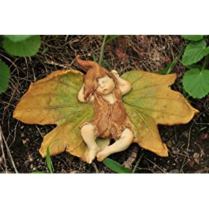 Top Collection Enchanted Story Fairy Garden Sleeping Fairy Baby Outdoor Statue 375 By 575 Inch