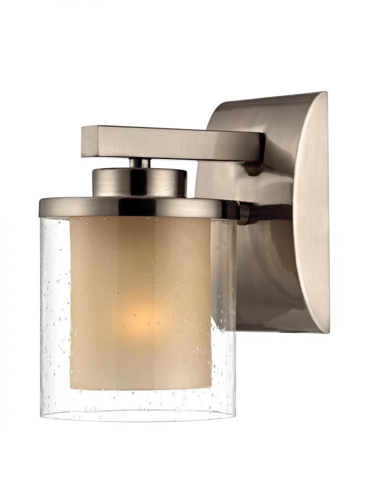 Dolan Designs 2956-09 Horizon Wall Sconce Satin Nickel