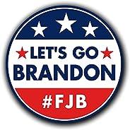 Snellspy 5Pcs Let's Go Brandon Sticker, FJB Sticker Decal, Let's Go Brandon! Bumper Sticker Funny Car