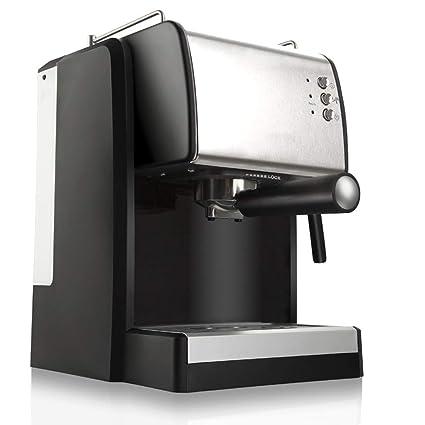 YJSY Máquina de café Tipo de Bomba 1.5L Máquina pequeña automática de Espuma de Leche