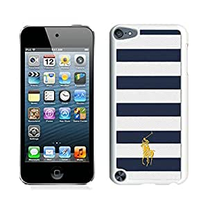 For iPod Touch 5,100% Brand New Lauren Ralph Lauren 21 White For iPod Touch 5 Case