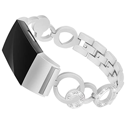 Amazon.com : BabiQ for Fitbit Charge 2, Luxury Crystal ...