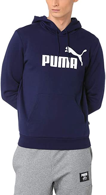 PUMA ESS Hoody FL Big Logo Sweat Shirts Homme
