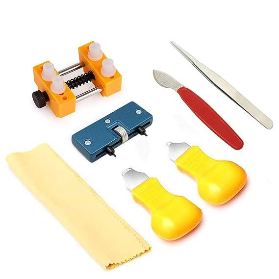 SehrGo Kit de Herramientas para Abridor de Relojes Kit de Herramientas de Relojero Profesional, Remarcador