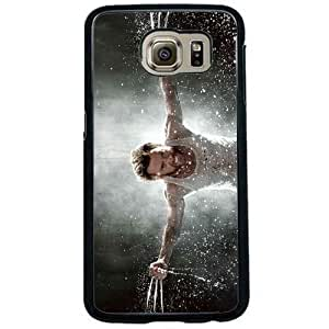 Wolverine Samsung Galaxy s6 Black Clear Phone Cases