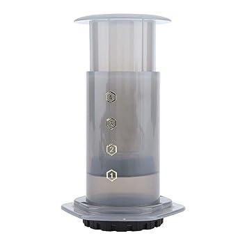 Fdit Cafetera Pot Manual Portátil Botella Portátil Hecho en casa PP Café Tea Press Home Office Juego de Espresso Mocha máquinas Can: Amazon.es: Hogar