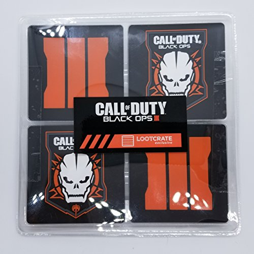 (Call Of Duty Black Ops III Coaster Set of 4 - Limited Edition Lootcrate CoD Exclusive)