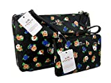 New Coach Signature Purse Crossbody Bag & Wristlet Matching Set 2 Piece Floral