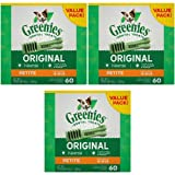 Greenies 180 Count 108-Ounce Dental Chews, Petite Review