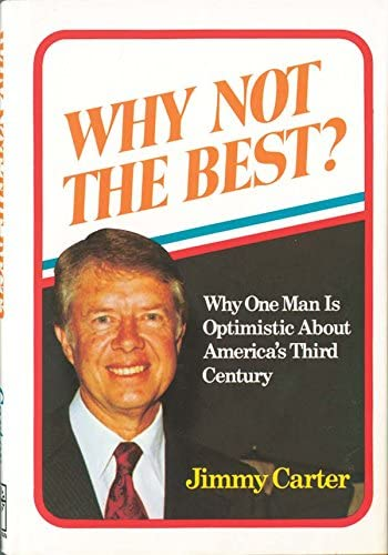 "Amazon.com: Autographed""Why Not The Best?"" by Jimmy Carter: Entertainment Collectibles"