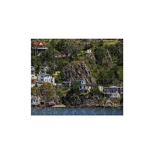 Media Storehouse 252 Piece Puzzle of North America, Canada, NL, The Battery at St. John s Harbour Entrance (12619283)