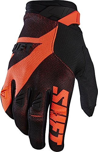 2017 Shift Black Label Pro Mainline Gloves-Black/Orange-XL (Shift Glove)