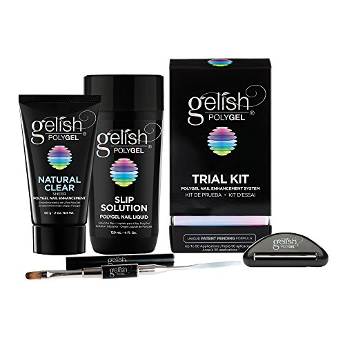 - Gelish PolyGel Professional Nail Technician All-in-One Enhancement Trial Kit